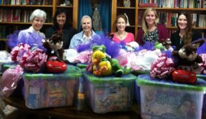 RCRSD delivers easter baskets to Good Shepherd Shelter